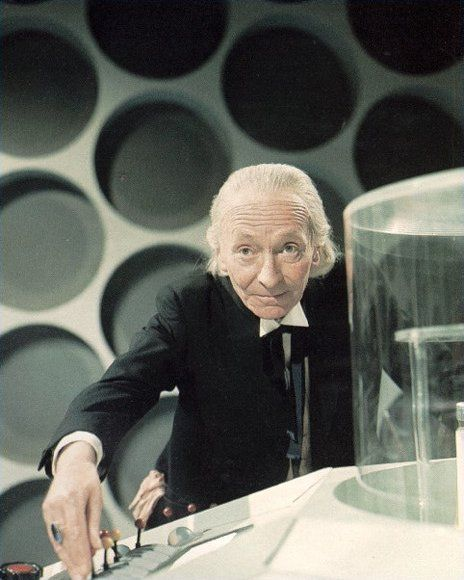 You know who else has a birthday today? The very first Doctor Who, William Hartnell. Born January 8, 1908, died April 1975, only to be regenerated.