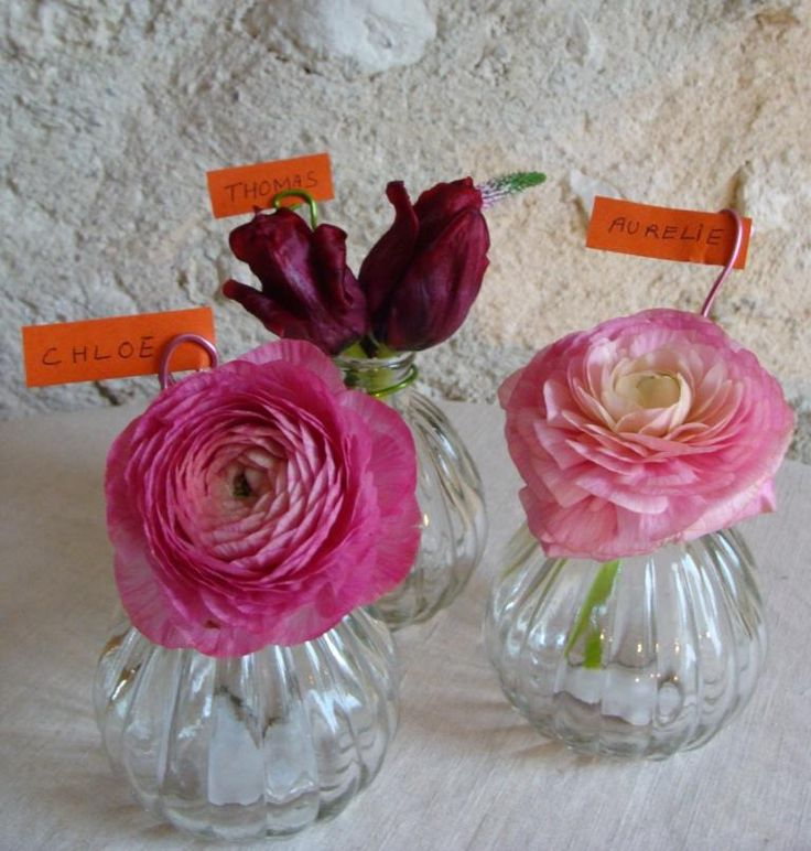 1000 images about centre de table mariage on pinterest - Vase deco pas cher ...