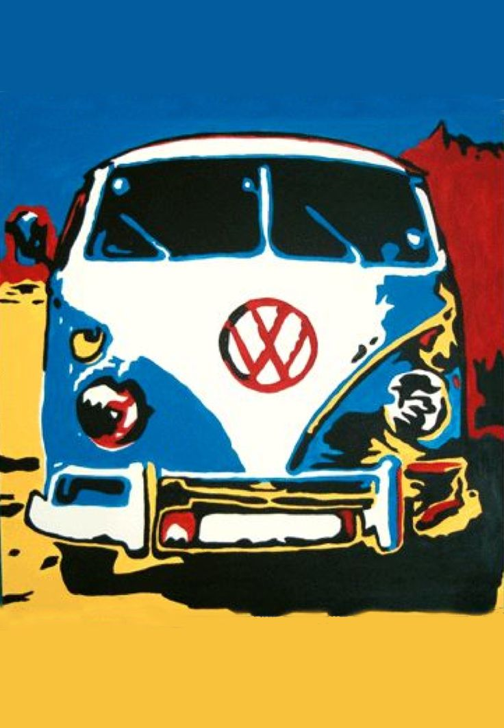 VW Pop Art