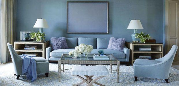 Living Room Decoration Blue