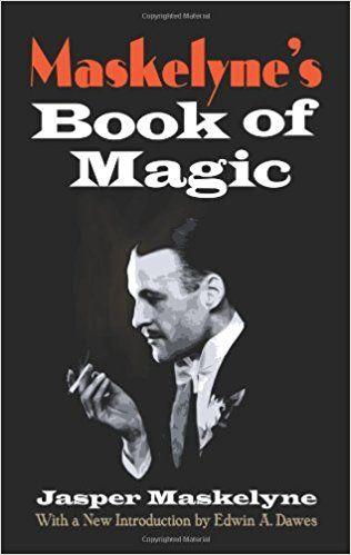 Jasper Maskelyne:  Magic book