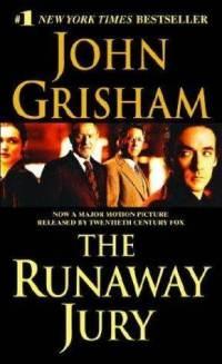 The Runaway Jury by John Grisham// my favorite of all the John Grisham books