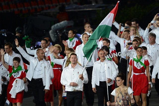 Hungarian Olympic team uniforms