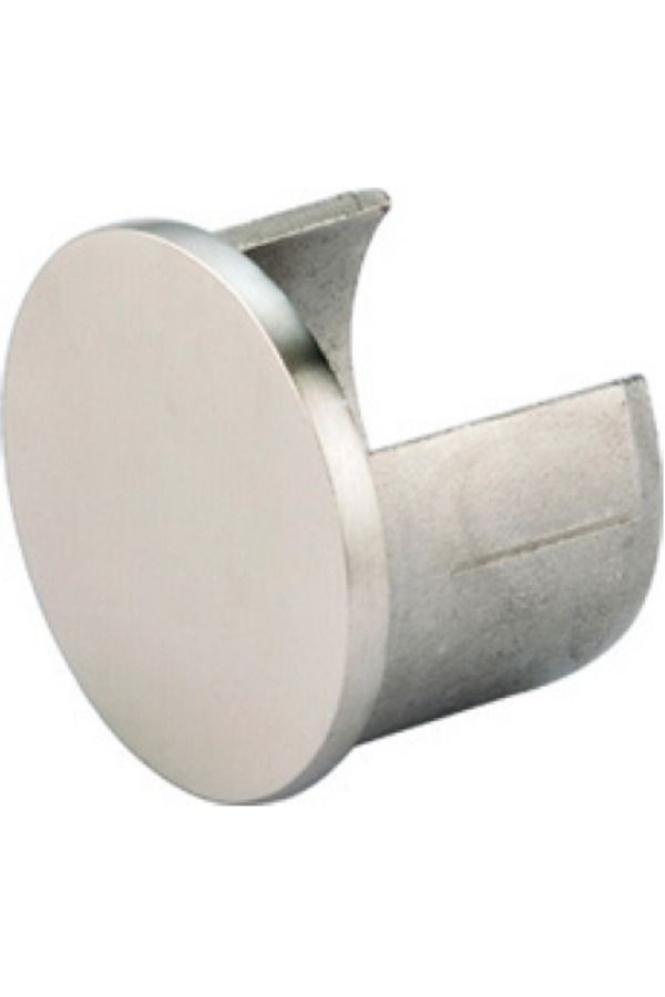 Channel Tube End Cap 640 Architectural Railings End Caps Finials Stainless Steel Channel Stainless Steel Tubing Brushed Stainless Steel