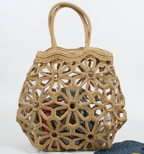 Mejores 295 imágenes de Bolsas tejidas en crochet. en Pinterest ...