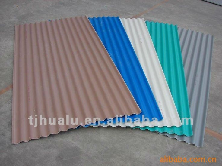 Color Coated Corrugated Steel Sheets for Roofing, Walls, Ceiling, Anti-fire Materials $810~$970