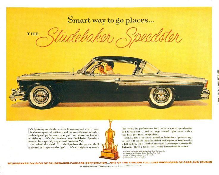 Old Car Ads Pics
