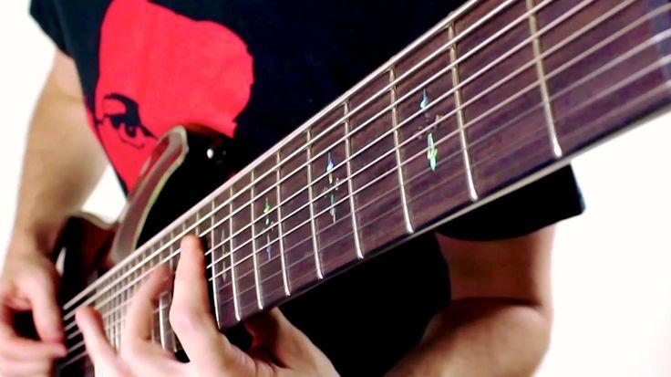 Envy (9 string metal song) - Rob Scallon