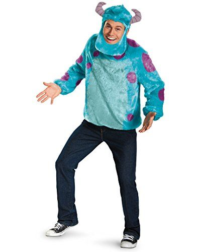 Disguise Costumes Disney Pixar Monsters University Sulley Deluxe Mens Adult Costume BluePurple XLarge4246 *** See this great product.