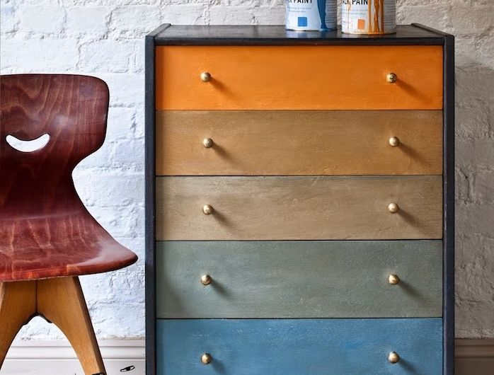 1001 + idées comment peindre un meuble ancien | Peinture meuble bois, Peindre meuble bois et ...