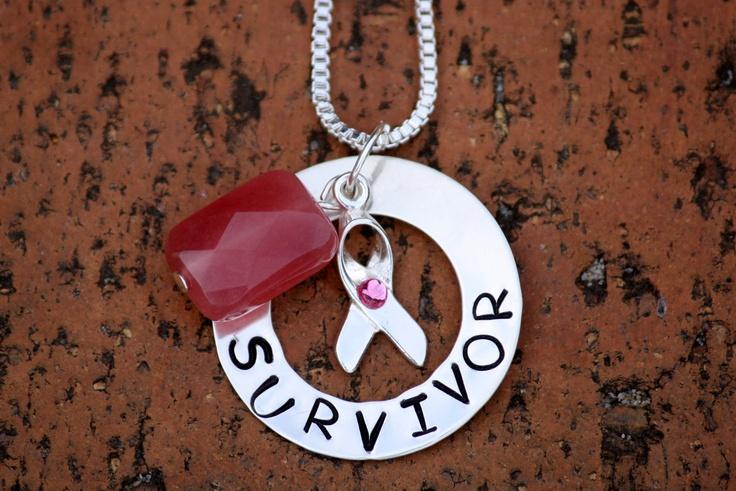 $45.00 Sterling Silver and Gemstone SURVIVOR Pendant by KarmaRocks on Handmade Australia