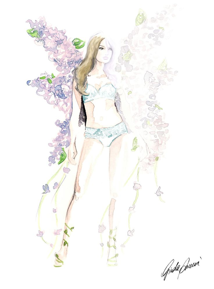 """Victoria's Secret - """"Angels in Bloom"""" Collection 01"""