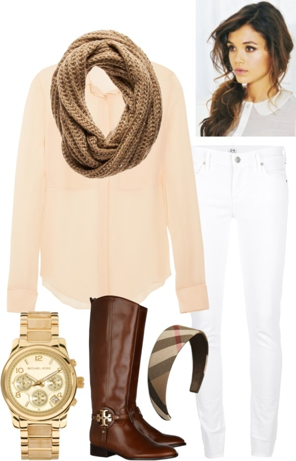 """""""Peach Blouse"""" by l-woke-up-near-the-sea ❤ liked on Polyvore"""