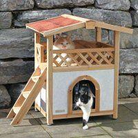 1000 id es sur le th me niche pour chat sur pinterest - Fabriquer une niche pour chat en bois ...