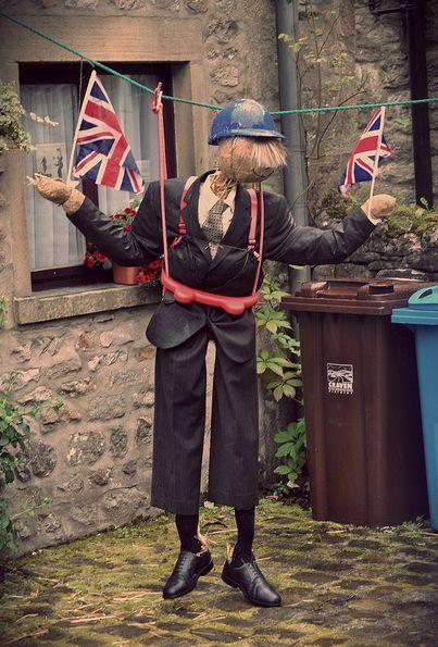 Kettlewell Scarecrow Festival, Yorkshire, UK