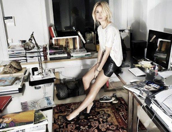 Elin Kling in the Office