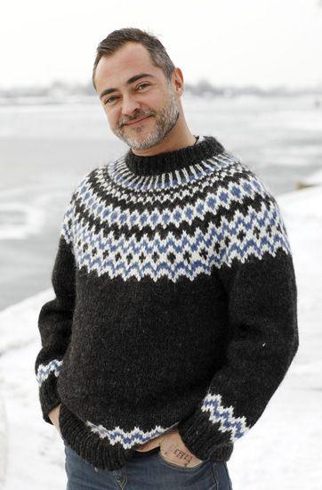 Strik en sweater mage til Bonderøvens
