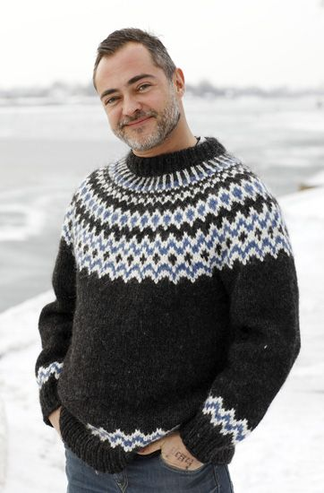 Strik en sweater mage til Bonderøvens