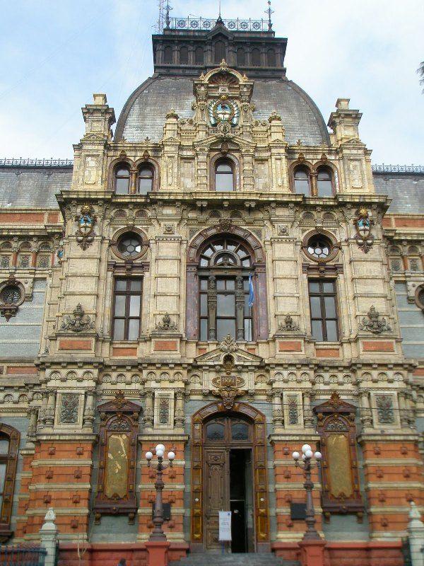 Aguas Argentinas Building. Buenos Aires, Argentina