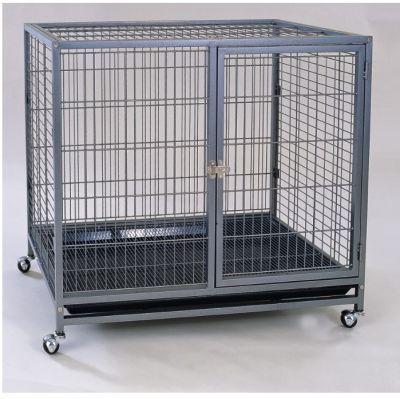 DaYang Tekerlekli Kedi Köpek Kafesi 95x57x87 Cm