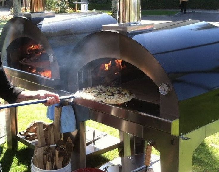 Bull X-Large Outdoor Wood Fired Pizza Oven - 66040 If you want a pizza oven for your food truck, catering business, or just to be the neighborhood pizza party house, this is a great choice! This large