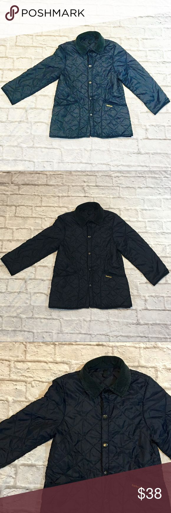 Barbour Children's quilted jacket Navy Liddesdale jacket. Size children medium. Barbour Jackets & Coats