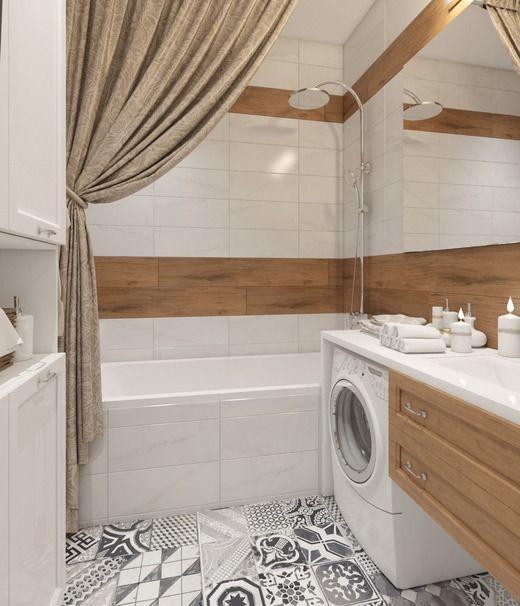 Ванная в двухкомнатной квартире г. Химки. Ванная: