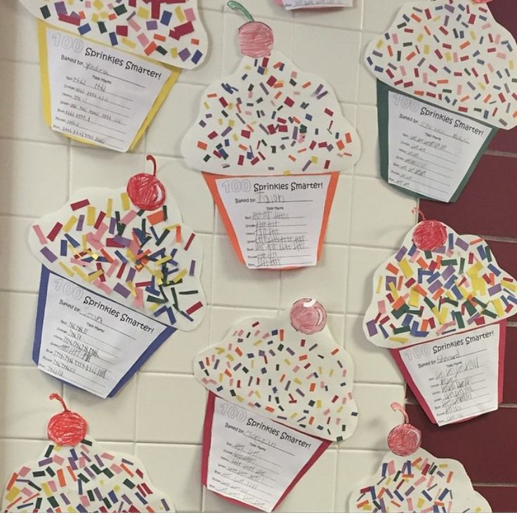 100th day of school activity. 100 Sprinkles Smarter!