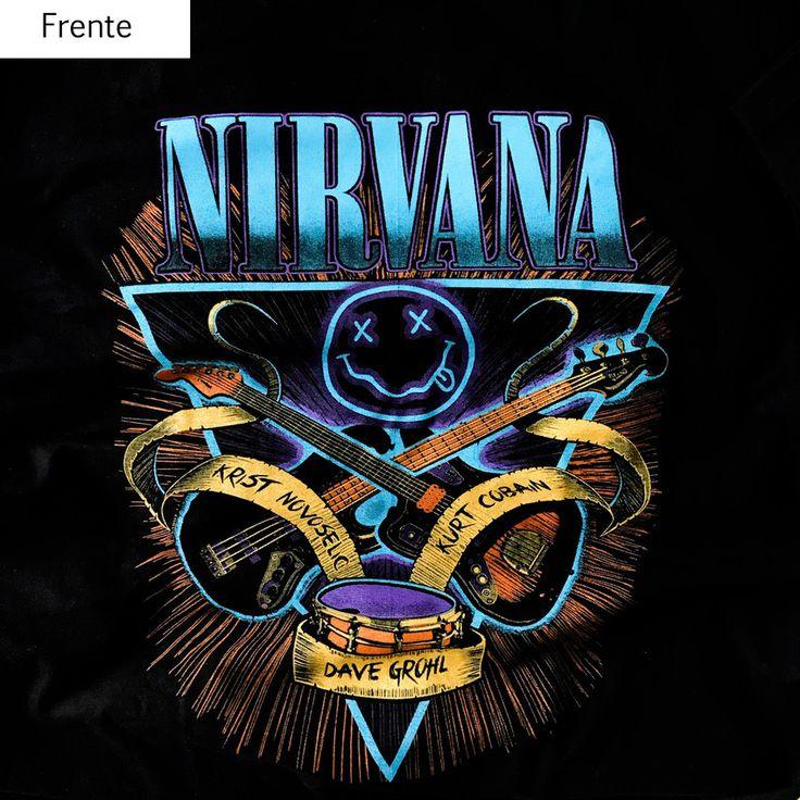 Camiseta Nirvana
