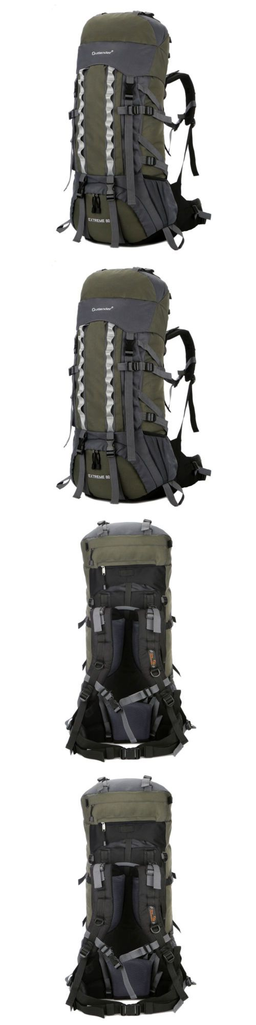 Backpacks 181379: 80L Outdoor Camping Hiking Backpack Travel Large Luggage Internal Frame Bag Pack -> BUY IT NOW ONLY: $31.89 on eBay!
