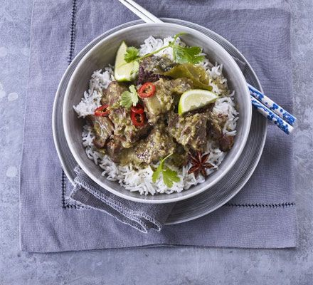 A spicy, authentic Thai green curry for your slow cooker that's ideal for taking the last-minute stress out of entertaining