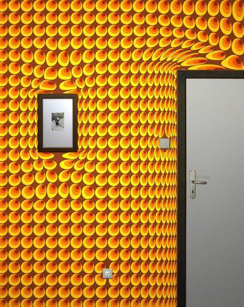 Die besten 25+ Tapete gelb Ideen auf Pinterest Wandgestaltung - tapeten und farben