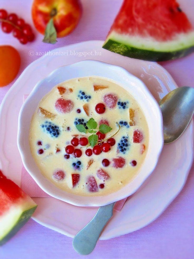 Az otthon ízei: Görög gyümölcsleves