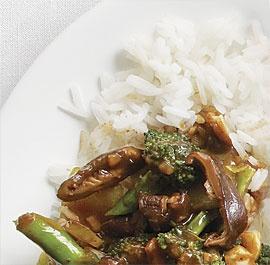 & Shiitake Stir-Fry with Black Bean Sauce--Dried shiitake mushrooms ...