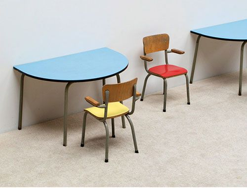 446 best mid century kids design images on pinterest mid for Chaise formica