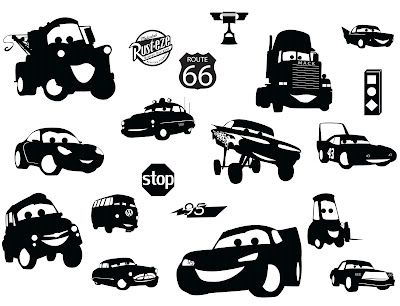 KLDezign SVG Cars, my nephew is going to love this!