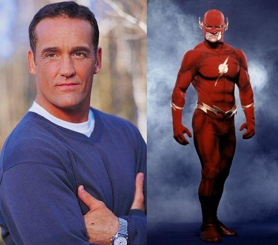 DC Television Universe : John Wesley Shipp - Barry Allen / The Flash (90's TV series)