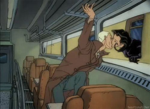 aeon flux tv kiss peter chung
