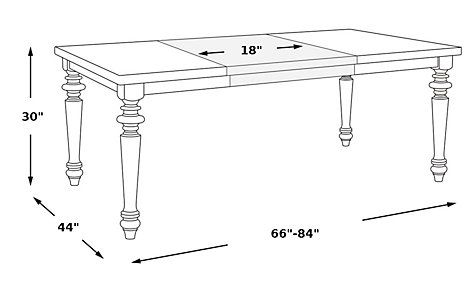 Cindy Crawford Home Ocean Grove Gray Dining Table from  Furniture