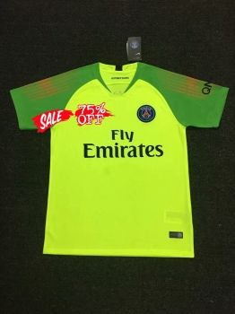 2018-19 Cheap Goalie Jersey PSG Replica Green Shirt  CFC736   b2786ba3f