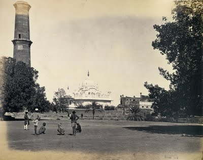 Tomb of Ranjit Singh, Lahore, 1863