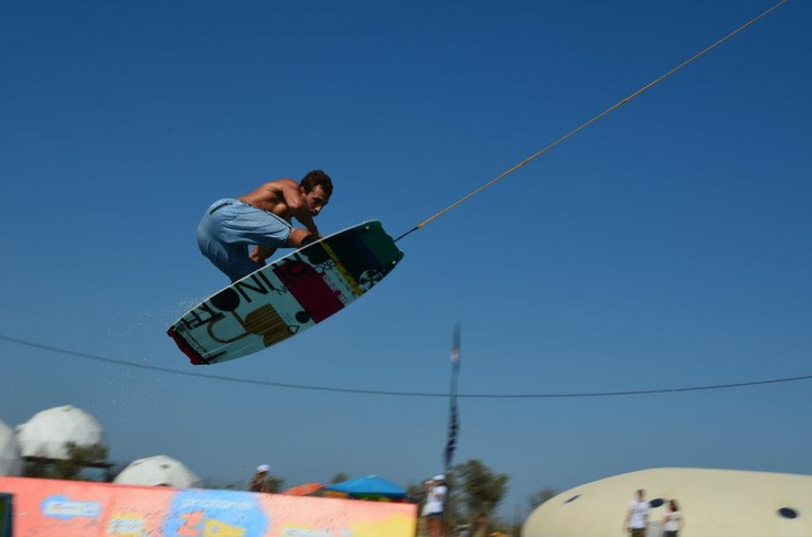 Youri Zoon on the Brunotti wakeboard 2013.