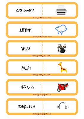 domino revision vocabulary