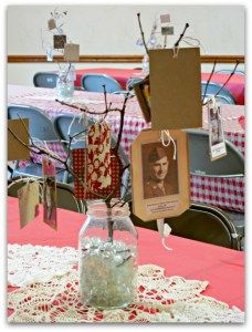 Beautiful Inexpensive Table Decorations for Family Reunion