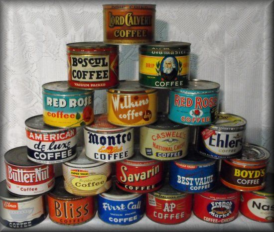 Image result for coffee can collection photos