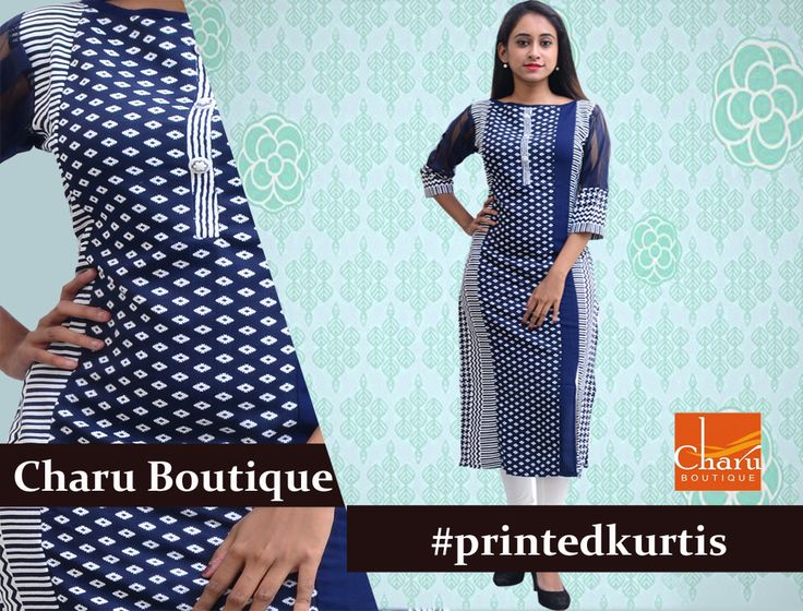 ​​#Printedkurtis are styles of the season. The best ones are waiting for you, only at #CharuBoutique #Nagpur #onlineshoping #kurtis #kurtas #ethnicwear #summerwear #summerspecial #weekendshopping