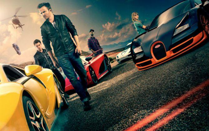 Máquina caríssimas em perseguições no filme 'Need for Speed' - Buena Vista/Divulgação