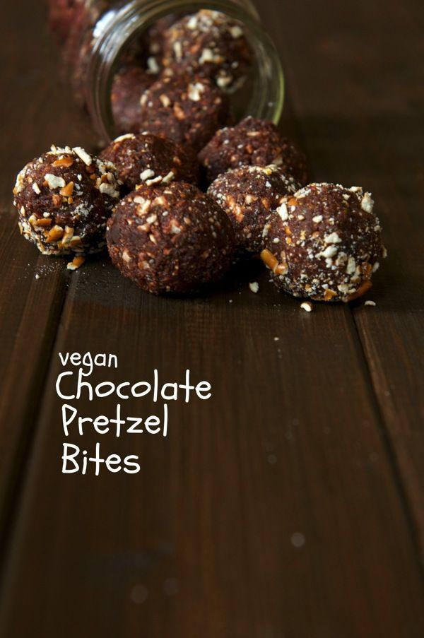 Chocolate Pretzel Bites-The Almond Eater