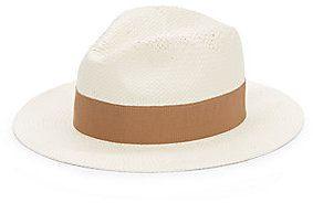 €54, Sombrero de Paja Beige. De Off 5th. Detalles: https://lookastic.com/women/shop_items/68414/redirect