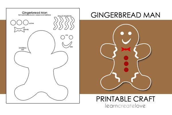 25+ Best Ideas About Gingerbread Man Crafts On Pinterest